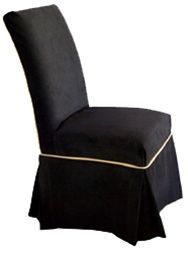 You Are Here:Home U003e Chair Slipcovers U003e Parsons Chair Slipcover Styles