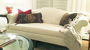 Custom made sofa and armchair slipcovers : custom made sectionals - Sectionals, Sofas & Couches
