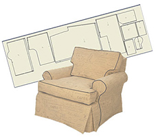 Custom Slipcover Patterns For Sofas And Armchairs