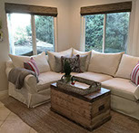 Sectional Slipcover With Separate Cushion Covers